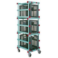 REA® Kunststoff Materialwagen 180