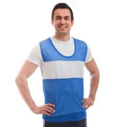 Sport-Thieme® Kennzeichnungsweste mit Sponsorenfeld Blau