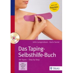 """Buch 'Das Taping-Selbsthilfe-Buch"""" incl. DVD"""