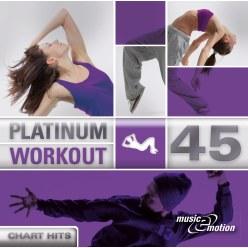 "CD ""Platinum Workout 45 - Chart Hits"""