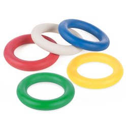 Sport-Thieme® Turnier-Tennisringe 5er Set