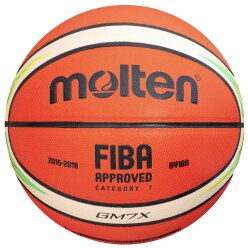 "Molten® Basketball ""GM7X-YG"""