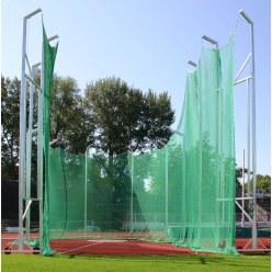Hammerwurf-Schutznetz für Gitterhöhe 7 m auf 10 m