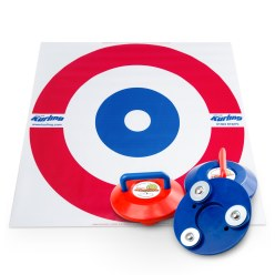 New Age Kurling Kurling Set inkl. Zielteppich