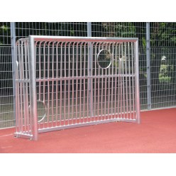 Sport-Thieme® Vollverschweißtes Bolzplatztor mit Ballausschnitten