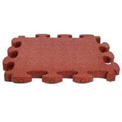 """Gum-Tech Fallschutzplatte """"Puzzle mat 3D"""" Grün, 6 cm"""