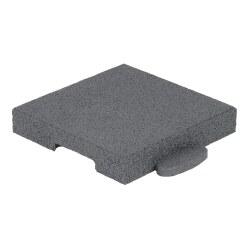 """Gum-Tech Eckstück """"Gerade"""", 25x25 cm"""