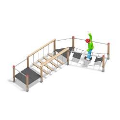 """Playparc Balancieranlage """"Frisia-Kombination A"""""""