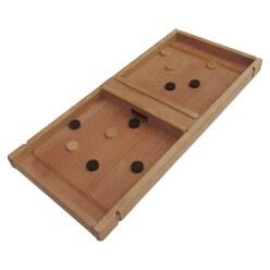 """Holz Bi-Ba-Butze Tischspiel """"Flitzpuck"""""""