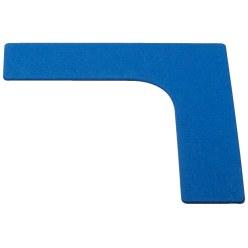 Sport-Thieme® Bodenmarkierung Blau, Fuß, 19 cm