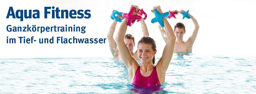Aqua Fitness: Ganzkörpertraining im Tief- und Flachwasser