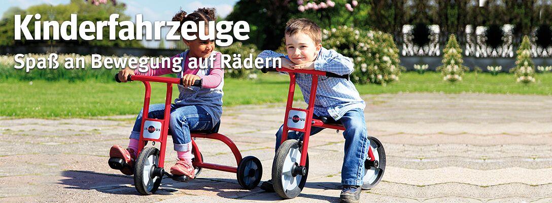 Kinderfahrzeuge - Spaß an Bewegung auf Rädern