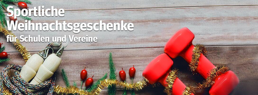Sportliche Weihnachtsgeschenke für Schulen und Vereine