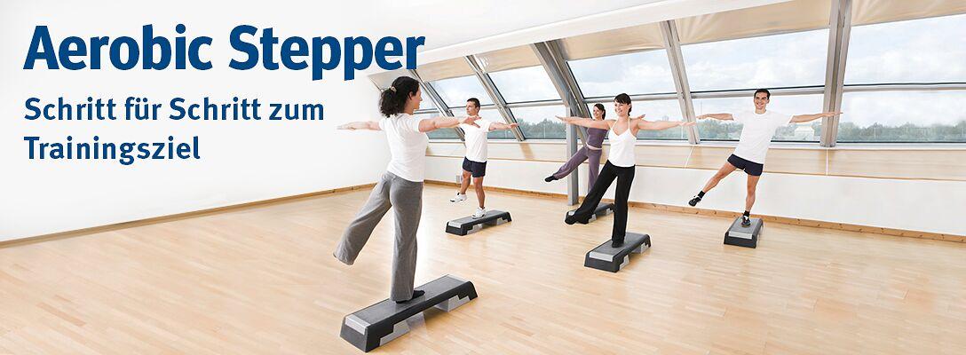 Aerobic Stepper - Für Muskel- und Konditionstraining