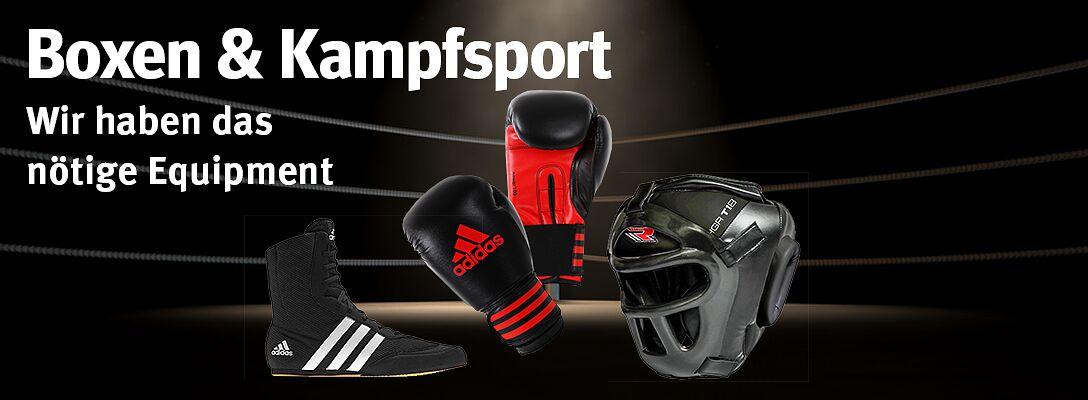 Boxen & Kampfsport: Wir haben das nötige Equipment