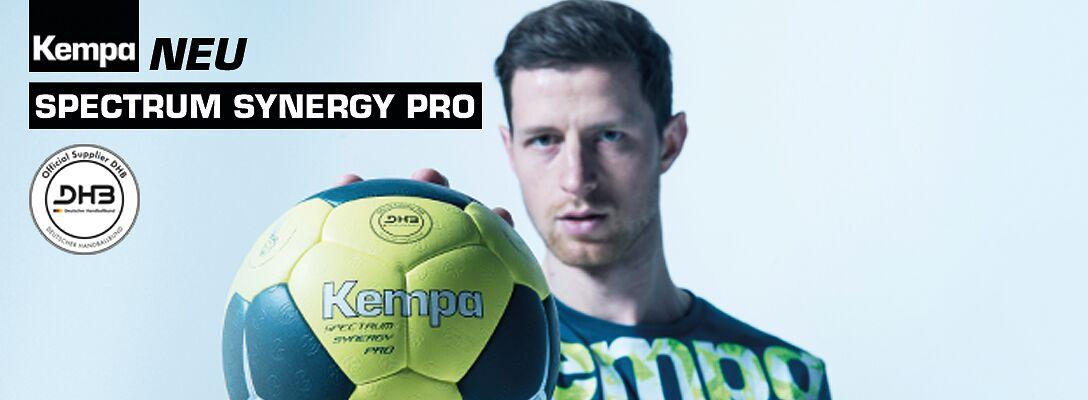 Der neue Handball-Wettspielball von Kempa