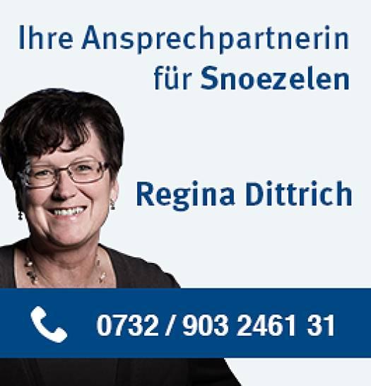 Regina Dittrich als Ansprechpartnerin für Snoezelen