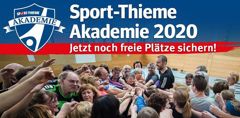 Sport-Thieme Akademie 2020 - Jetzt anmelden!