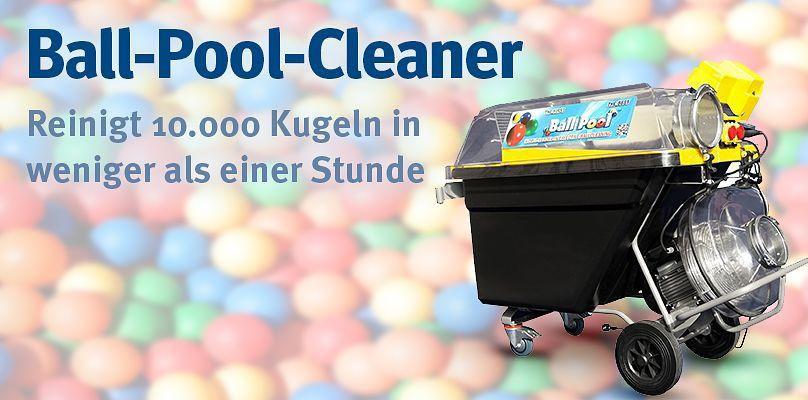 Ball-Pool-Cleaner - Reinigt 10.000 Kugeln in weniger als einer Stunde