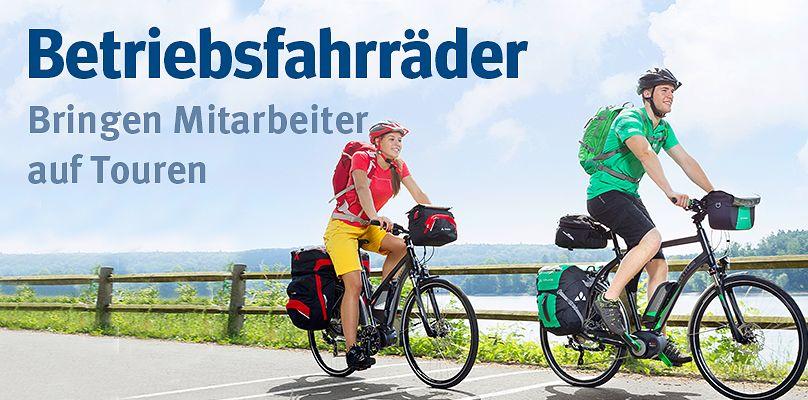 Betriebsfahrräder - Bringen Mitarbeiter auf Touren