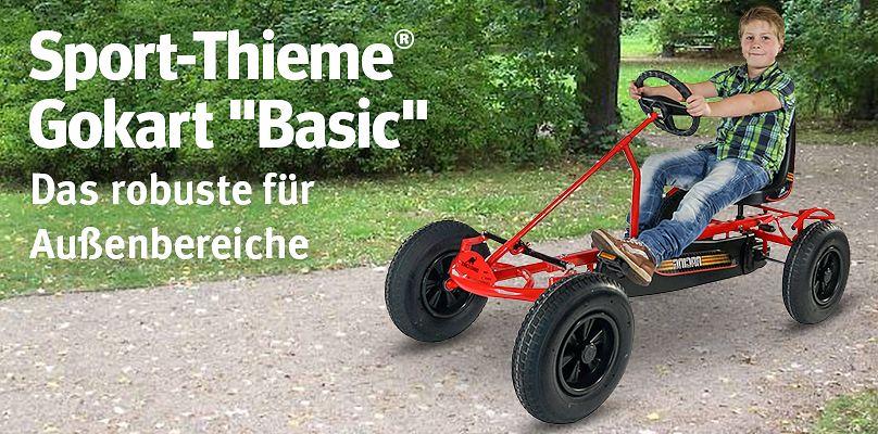 """Sport-Thieme® Gokart """"Basic"""" - Das robuste für Außenbereiche"""