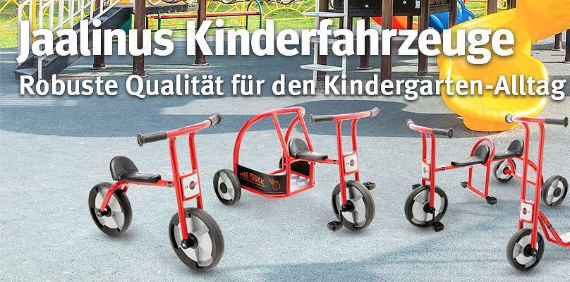 Jaalinus Kinderfahrzeuge - Robuste Qualität für den Kindergarten