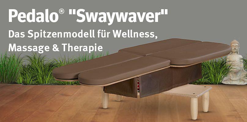 """Pedalo® """"Swaywaver"""" - Das Spitzenmodell für Wellness, Massage & Therapie"""