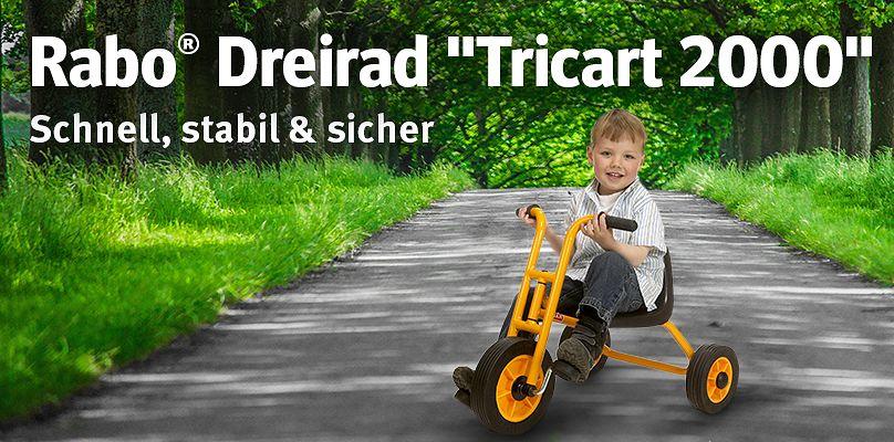 """Rabo® Dreirad """"Tricart 2000"""" Schnell, stabil & sicher"""