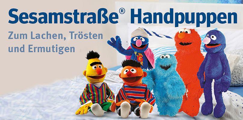 Sesamstraße® Handuppen - Zum Lachen, Trösten und Ermutigen