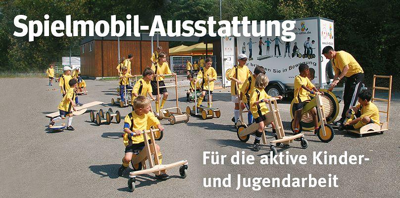 Spielmobil - Für die aktive Kinder- und Jugendarbeit
