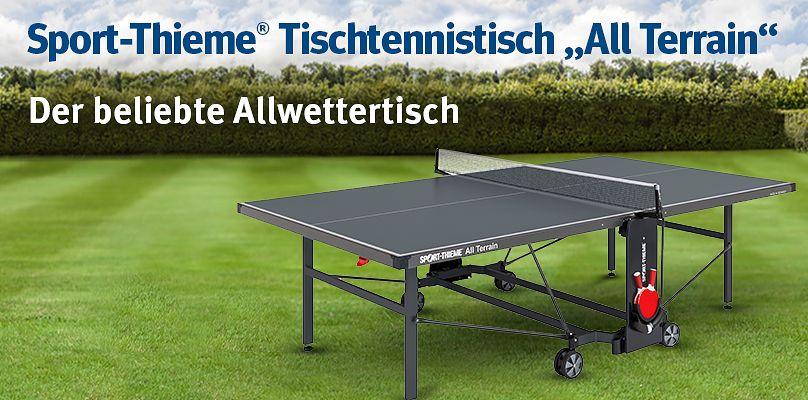 """Sport-Thieme® Tischtennistisch """"All Terrain"""" - Der beliebte Allwettertisch"""