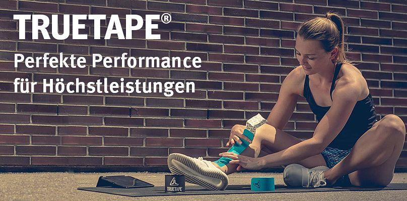 TRUETAPE® - Perfekte Performance für Höchstleistungen