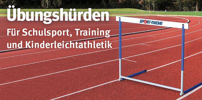 Übungshürden - Für Schulsport, Training und Kinderleichtathletik