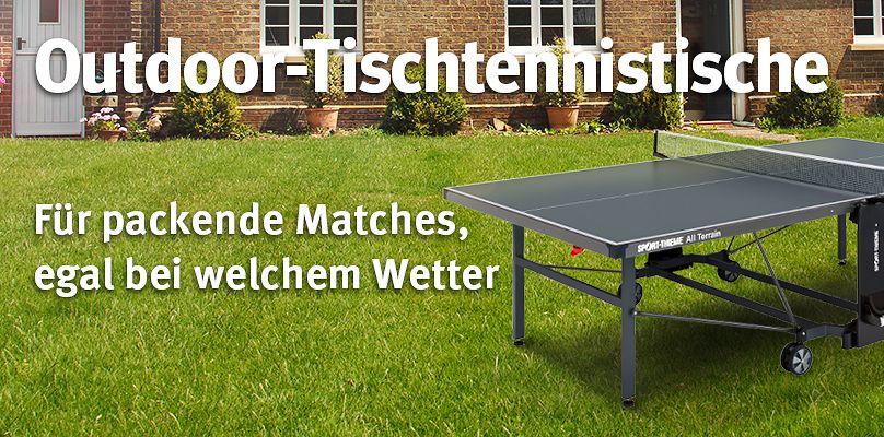 Tischtennistische für den Außenbereich