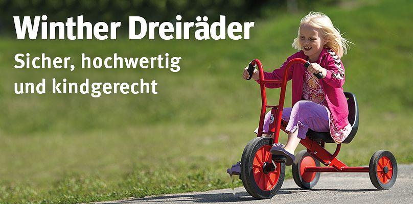 Winther® Dreiräder - Sicher, hochwertig und kindgerecht