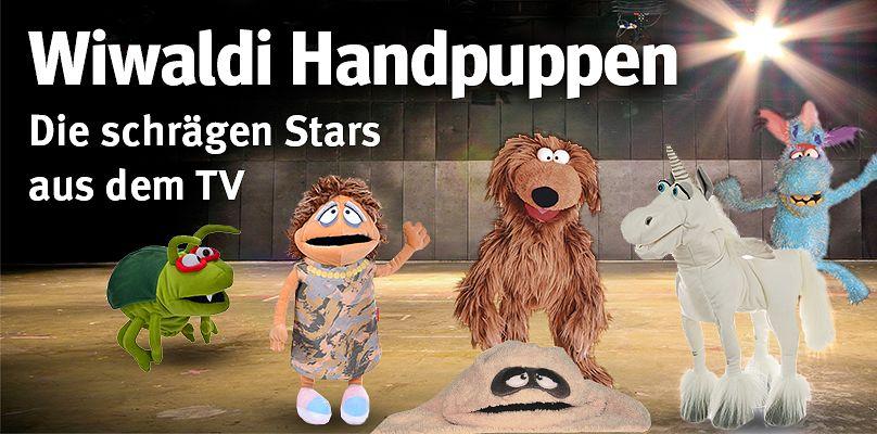 Wiwaldi-Handpuppen - Die schrägen Stars aus dem TV