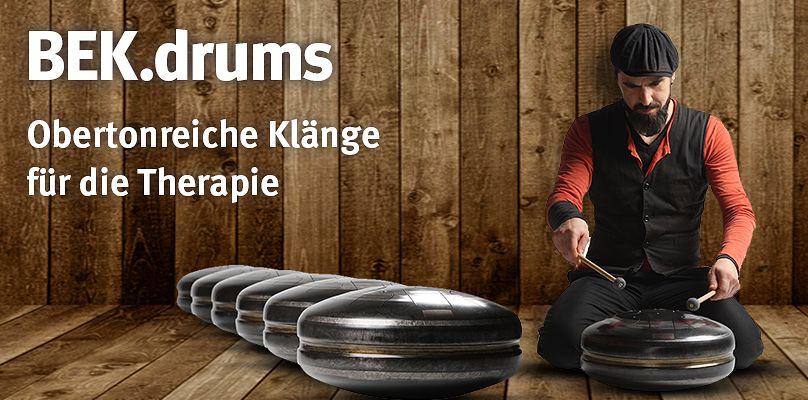 BEK.drums - Obertonreiche Klänge für die Therapie