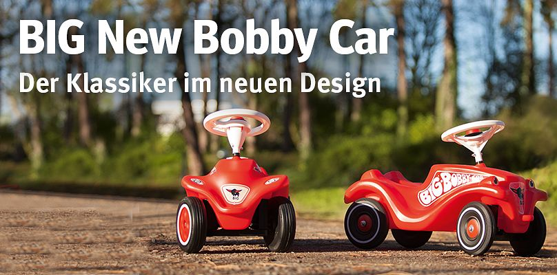 BIG New Bobby Car: Klassiker im neuen Design