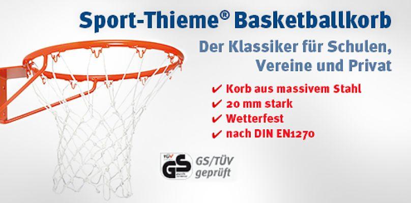 Sport-Thieme® Basketballkorb - Der Klassiker für Schulen, Vereine und Privat