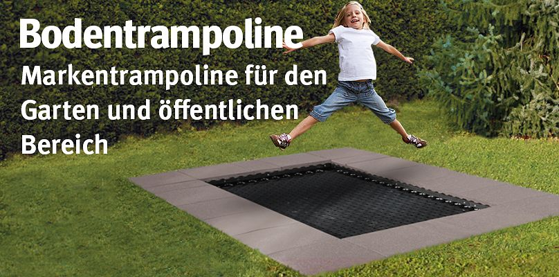 outdoor trampoline preiswert im sport thieme online shop. Black Bedroom Furniture Sets. Home Design Ideas