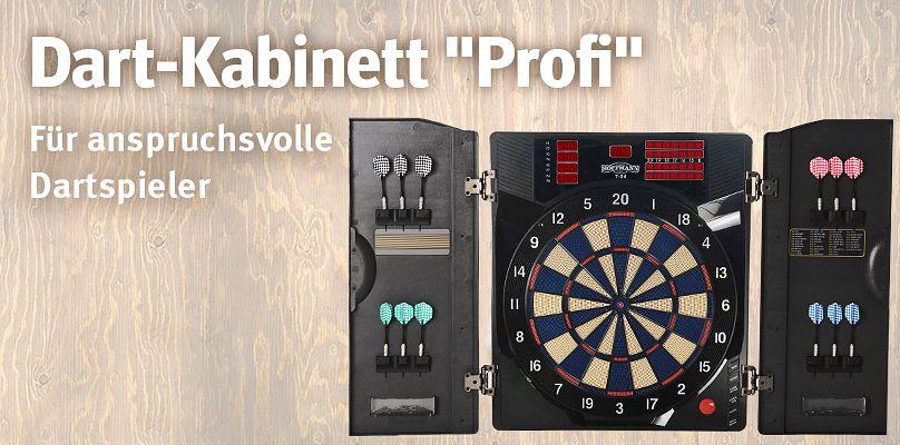 """Dart-Kabinett """"Profi"""" - Für anspruchsvolle Dartspieler"""