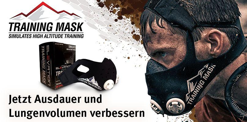 Elevation Mask - Ausdauer und Lungenvolumen verbessern