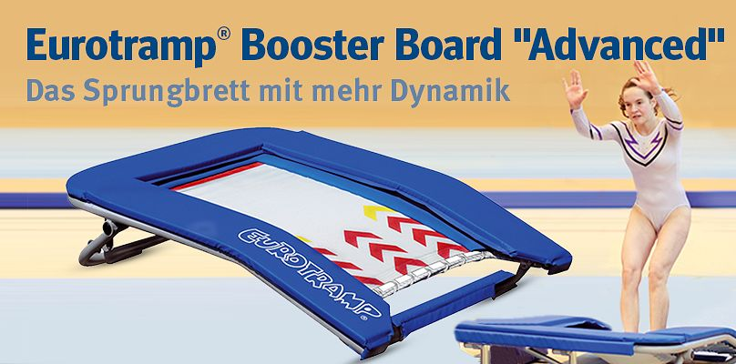 "Eurotramp® Booster Board ""Advanced"" – Das Sprungbrett mit mehr Dynamik"