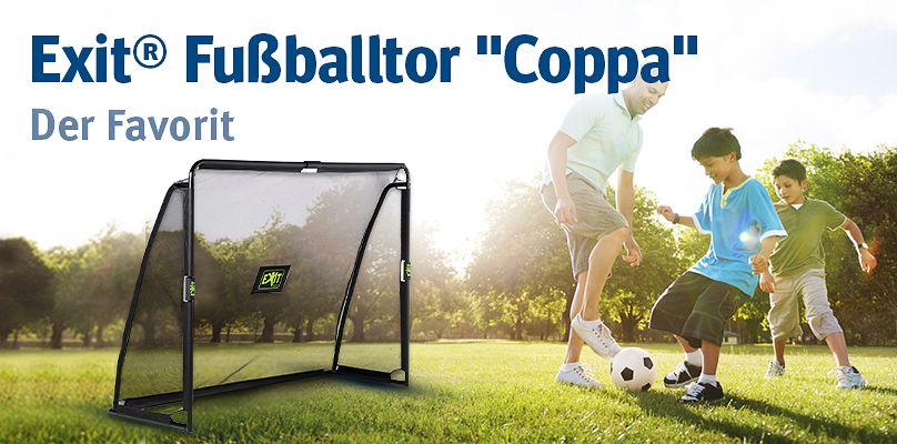 """Exit® Fußballtor """"Coppa"""": Der Favorit"""