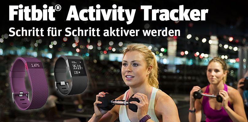 Fitbit Activity Tracker - Schritt fuer Schritt aktiver werden