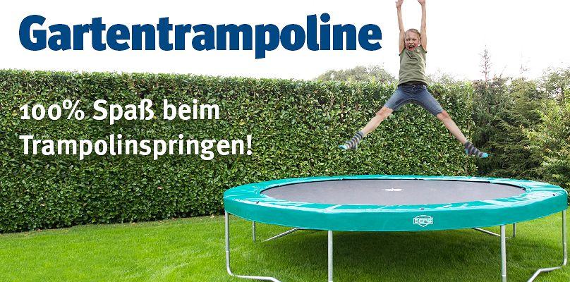Gartentrampoline - 100% Spaß beim Trampolinspringen!
