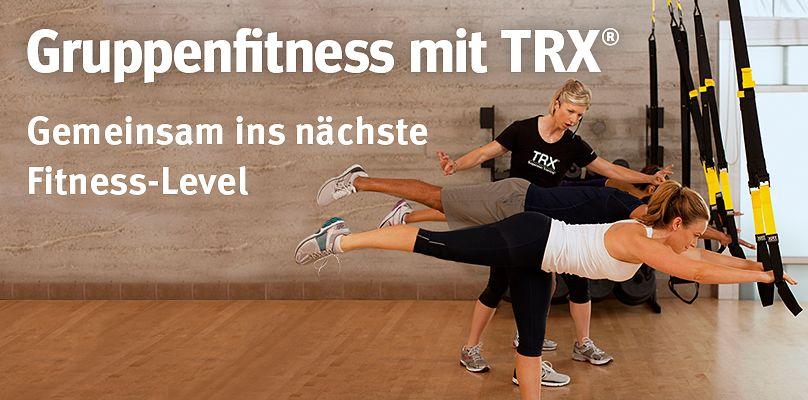 Gruppenfitness mit TRX®