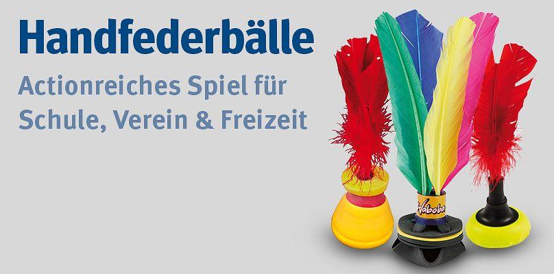 Handfederbälle - Actionreiches Spiel für Schule, Verein & Freizeit
