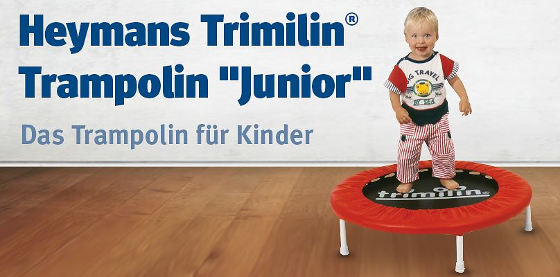 "Heymans Trimilin® Trampolin ""Junior"" - Das Trampolin für Kinder"