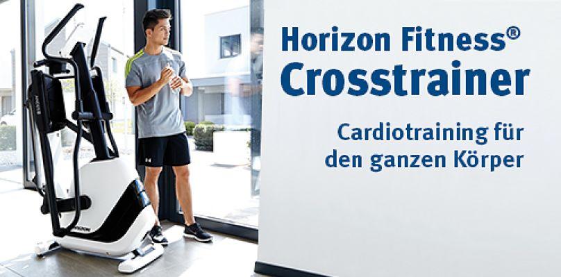 Horizon Fitness® Crosstrainer - Crosstraining für den ganzen Körper